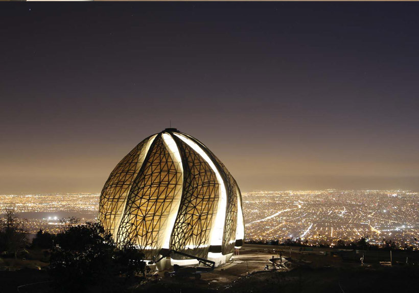 Bahai Temple of South America Chile